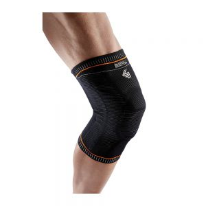 Shock Doctor 2072-01-32 Ultra Knit Knee Support with Full Patella Gel and Stays