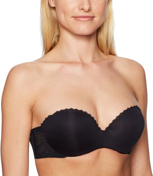 18ea706e61 Lily Of France Women s Gel Touch Strapless Push Up Bra
