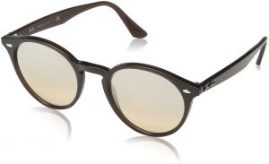 9eafde7eb42 Ray-Ban Injected Man Sunglasses - Opal Brown Frame Brown Mirror Gradient  Lenses 51mm Non-Polarized