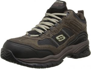 37092f0d8344 Skechers Men s Work Relaxed Fit Soft Stride Canopy Comp Toe Shoe