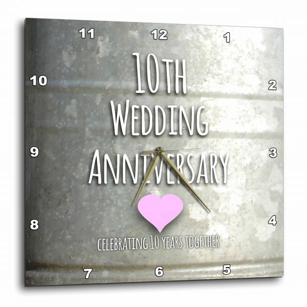 Inspirationzstore Occasions 10th Wedding Anniversary Gift Tin