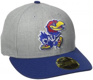 New Era NCAA Kansas Jayhawks Adult Change Up Redux Low Profile 59FIFTY Fitted  Cap c2f06c0722c2
