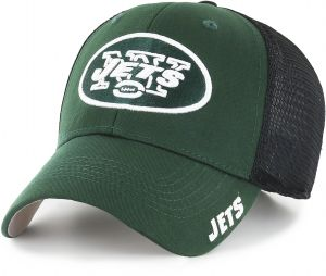 65000b335939a OTS NFL New York Jets Adult Hursh Center Stretch Fit Hat