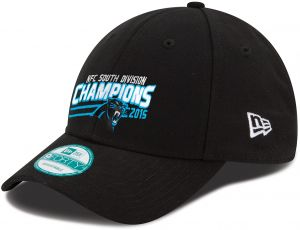 New Era NFL Carolina Panthers 2015 Division Champs 9Forty Adjustable Cap 872d7705c643