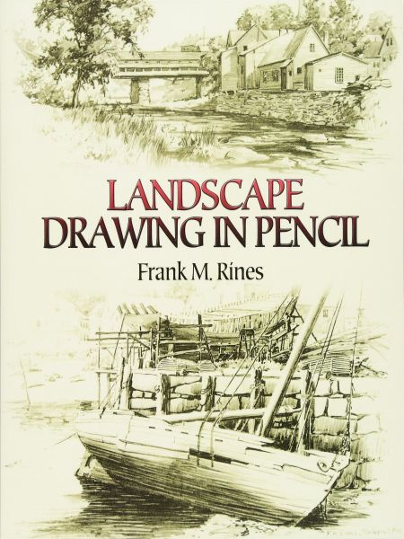 Souq Landscape Drawing In Pencil Dover Art Instruction Uae