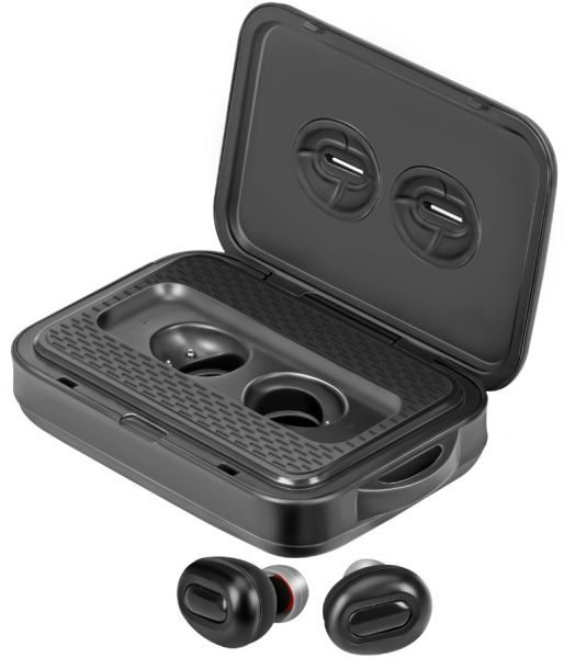 4e8f3224009 Vivo X20 Plus Wireless Earbud with Power Bank, Smallest True Wireless  Bluetooth Headphone with 5000mAh Charging Case, Noise Cancelling and  Built-In Mic for ...