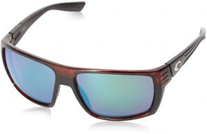 2ae7a0abbc Costa del Mar Hamlin Polarized Iridium Rectangular Sunglasses