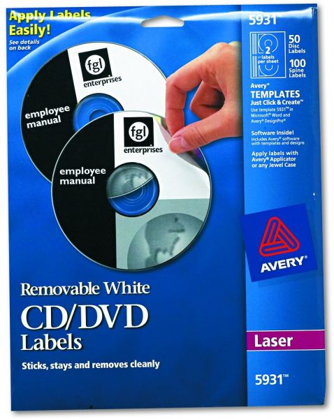 Souq Avery Laser Labels Shuttered Jewel Case Inserts With Software