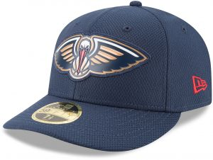 NBA New Orleans Pelicans Adult Bevel Team Low Profile 59FIFTY Fitted Cap 73f9683e5ed7