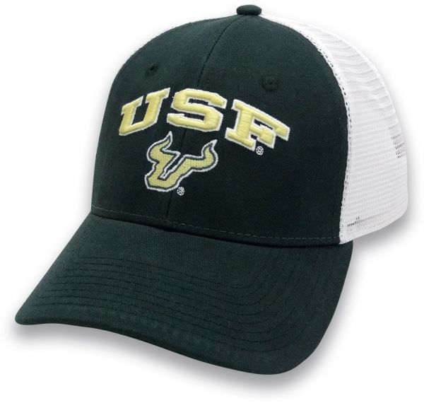 3575c7dabd3 The Game NCAA South Florida Bulls Adult Unisex Everyday Trucker Mesh ...