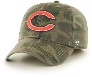 NFL Chicago Bears Harlan Franchise Fitted Hat 89661e2a22ef