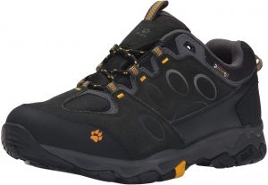 4bebc9adfc Jack Wolfskin Men's MTN Attack 5 Texapore Low M Boot, Burly Yellow, 9 D US