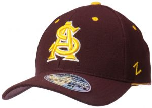 sports shoes 9ded5 eb66a NCAA Arizona State Sun Devils Men s ZH Stretch Fit Cap, Maroon, X-Large