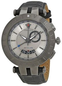 3b1fc7eda9a04 Versace Men s Grey Dial Stainless Steel Band Watch - 29G98D535S009