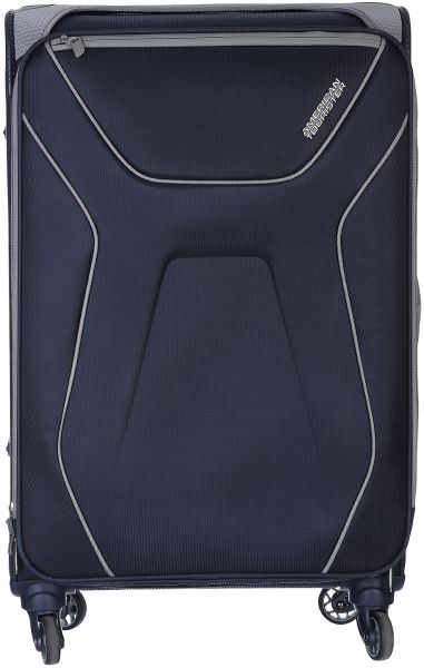 American Tourister Aa9-41-003 Luggage Trolley Bag For Unisex - Navy ... a08dfaeb723ed