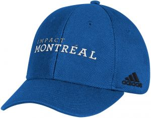 low priced f17ec 3eef1 adidas MLS Montreal Impact Adult Men Wordmark Mesh Structured Adjustable Hat,  One Size, Blue