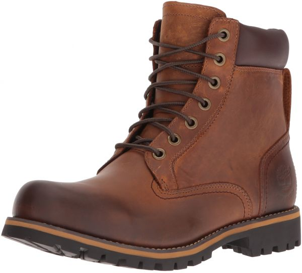 Timberland Men S Earthkeepers Rugged Boot Red Brown 8 5 M Us