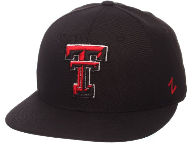 new arrival aa33e 3111b ... best price ncaa texas tech red raiders mens m15 fitted hat 71 4 black  4e67a 9b894