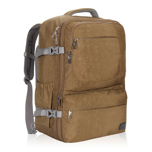 0d13d272fe2 Hynes Eagle 44L Carry on Backpack Flight Approved Compression Travel ...
