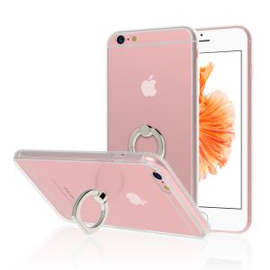 JETech Case for Apple iPhone 6s Plus and iPhone 6 Plus, Ring Holder Kickstand Cover , Shock-Absorption Bumper, HD Clear