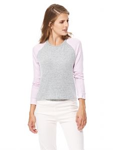 FOREVER 21 Pajama Top for Women - Grey   Dusty Pink 1b22c2917
