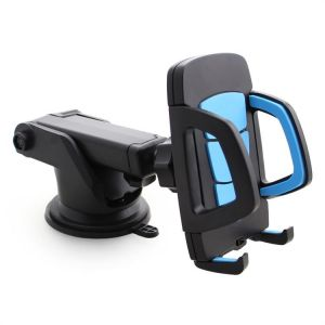 Flexible Car Dashboard Holder for Samsung Galaxy Young (GT-S6310) - Blue