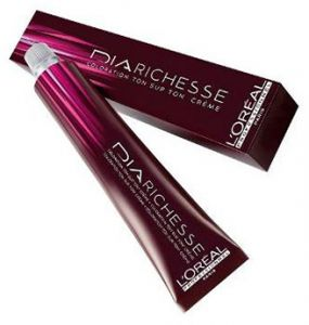 L Oreal Professional Dia Richesse Hair Color 50 Gm 6 23 Gianduja Brown