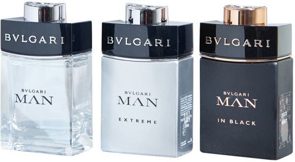 Extreme by Bvlgari Gift Set for Men - Assorted Fragrances, 15 ml - 15 ml - 15 ml, 3 Count