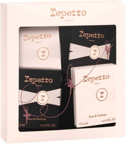 Miniature Perfume Gift Set By Repetto For Women Assorted Fragrance