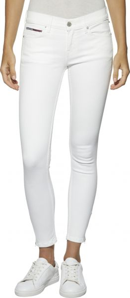 1b783411 Tommy Hilfiger Nora Mid Rise Skinny Jeans for Women - White | Souq - UAE