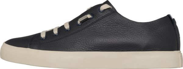 f0ce24d5120c7f Tommy Hilfiger Unlined Leather Low Fashion Sneakers for Men - Blue ...