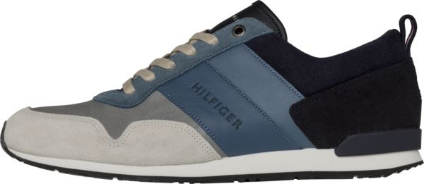 9649cf0d15a8b Tommy Hilfiger Iconic Color Mix Running Shoes for Men - Blue