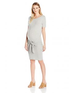 80a6d9edbe1 Everly Grey Women s Maternity Maya Tie Front Knot Nursing Dress