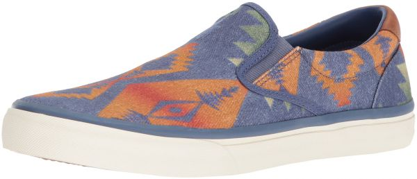 Polo Ralph Lauren Men\u0027s Thompson Sneaker, Dark Blue/Multi, 12 D US