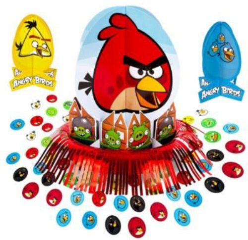 Amscan Angry Birds Table Decorating Kit 23 Pcs Souq Uae