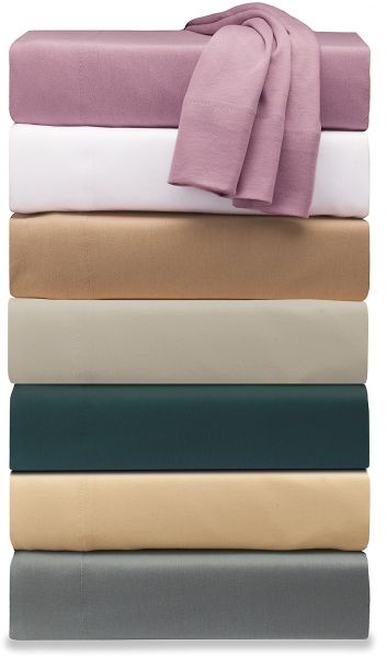 High Quality Soft Tees Jersey Knit Sheet Set, King, Taupe