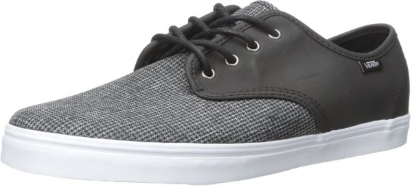 Vans Unisex Madero (2 Tone Suiting) Black True White Men s 11.5 ... e28c68fcd3