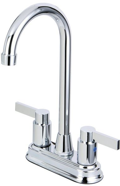 Kingston Brass Kb8491ndl 4 34 Inch In Spout Reach Nuvofusion Two