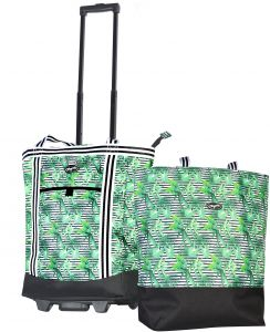 9000a86fd4 Olympia 2-Piece Rolling Shopper Tote and Cooler Bag