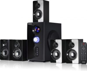 Best Home Theater Systems 2020.Nikai 5 1 Channel Home Theater System Nht5000btn