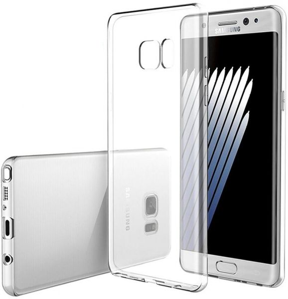 competitive price 7ce11 23a0b INEIX Silicone Back Case Cover For Samsung Galaxy Note FE (Note 7) - Clear