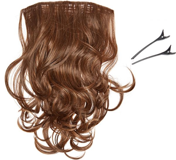 Souq 20 Inch Styleable Clip In Hair Extension R830 Ginger Brown