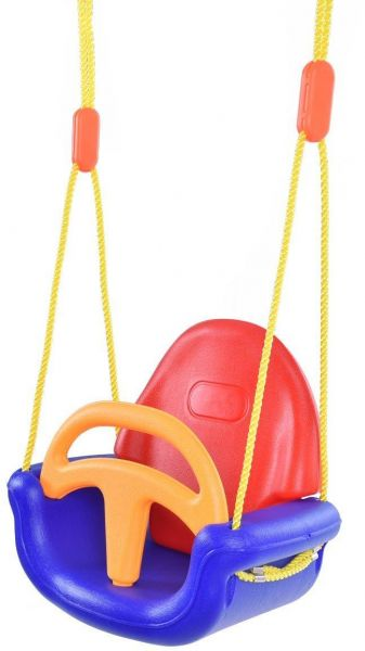 Baby Swing 3 In 1 Infant Swing Set Detachable Safety Toddler Patio
