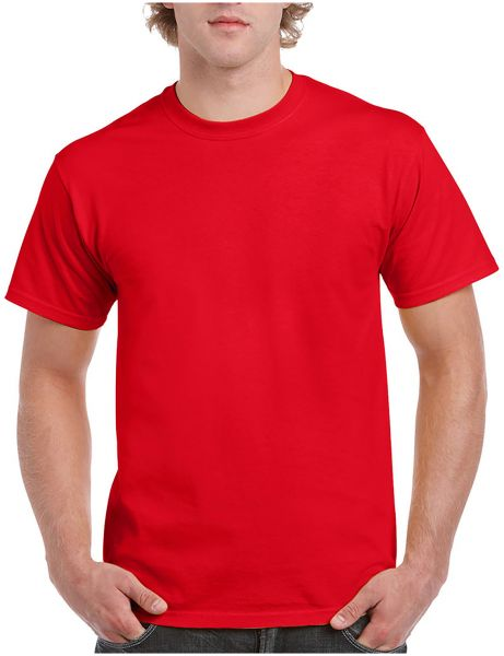9d2623d268b Santhome Round Neck Cotton Polo T-Shirt for Men - Red