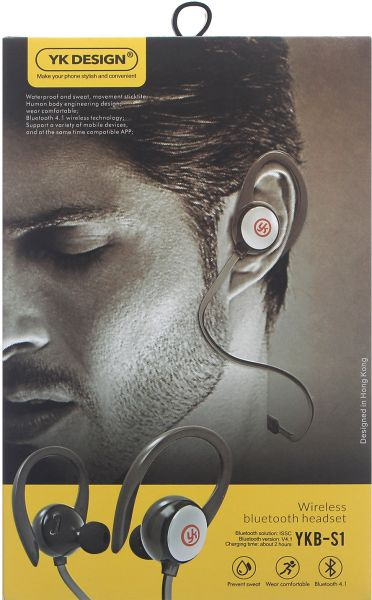 Image result for YK S1 Earphone bluetooth