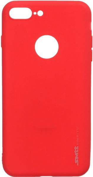 Smtt Simeitu Back Cover For Apple Iphone 7 Plus, Red | Souq
