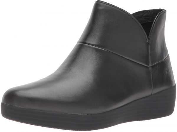 04a0b2d98a9a5f FitFlop Women s Supermod II Leather Ankle Boot