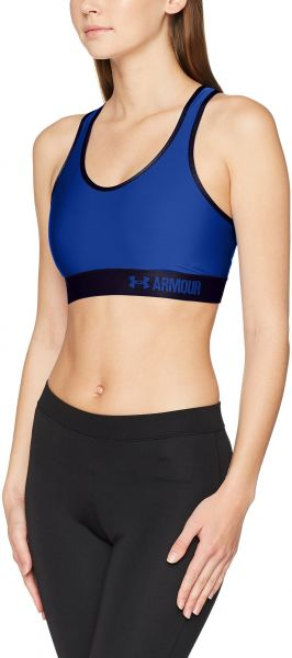 f82a25ce49 Under Armour Women s Armour Mid Sports Bra blue