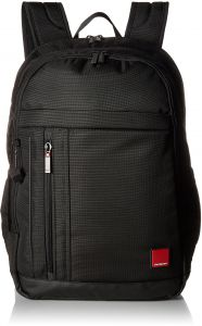 Hedgren Red Tag Glider Backpack 15 6 Inch Laptop Tablet And Bottle Pockets 7 X 18 3 12 Inches Uni Black