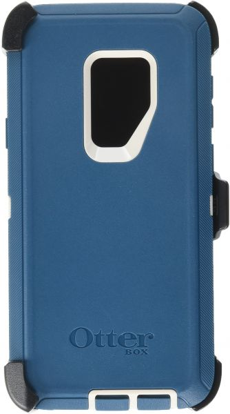 low priced 51b40 15668 OtterBox DEFENDER SERIES Case for Samsung Galaxy S9+ - Frustration Free  Packaging - BIG SUR (PALE BEIGE/CORSAIR)